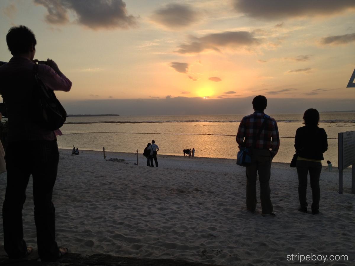 《亂戰沖繩》之〈瀨底島的黃昏〉